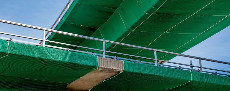 Safety Nets with Overlay Panel