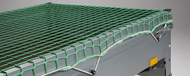 Custom-Made Trailer Cover Nets