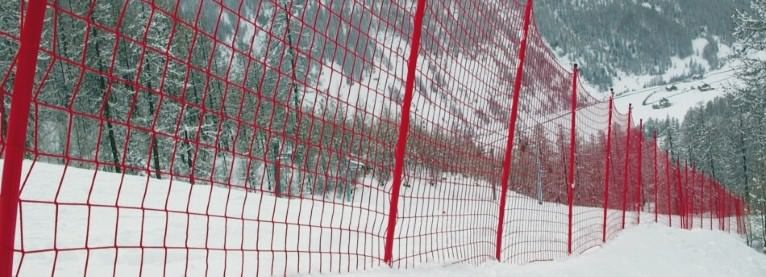 Ski Slope Safety Nets