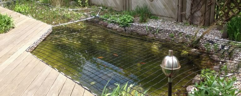 Pond Covering Nets