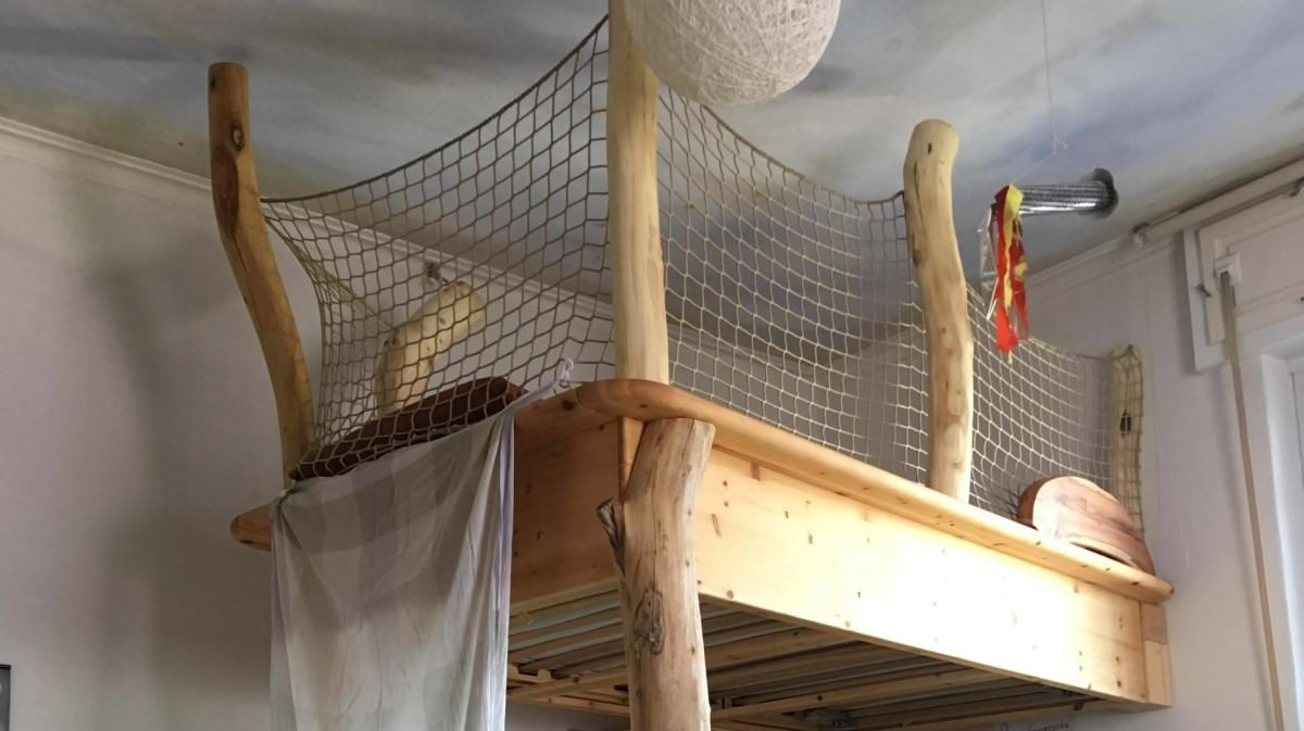 Loft Bed Safety Net