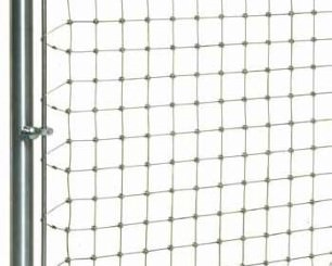 Wire net fastening with profiles