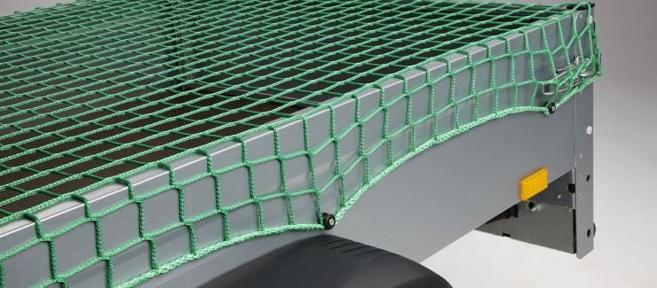 Safety Net Assembly, Mounting With Plastic Knobs