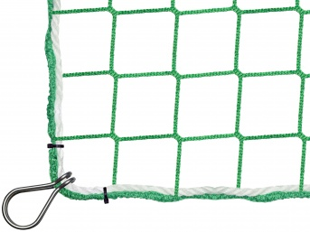 Fall Safety Net 6.00 x 10.00 m with Thimble Hooks
