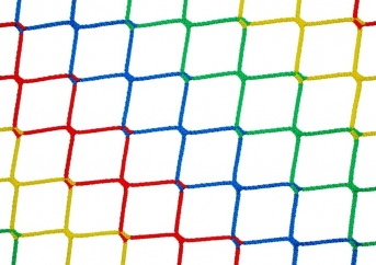Play Area Safety Net by the m² (Custom-Made), Colorful